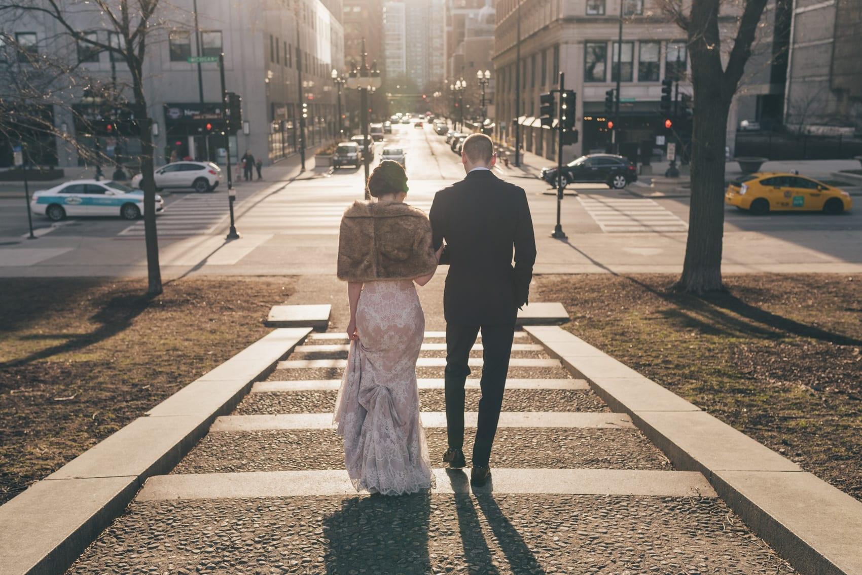 Thara Photo Chicago Wedding Photographer Blackstone Hotel Assumption Catholic Church Michigan Avenue