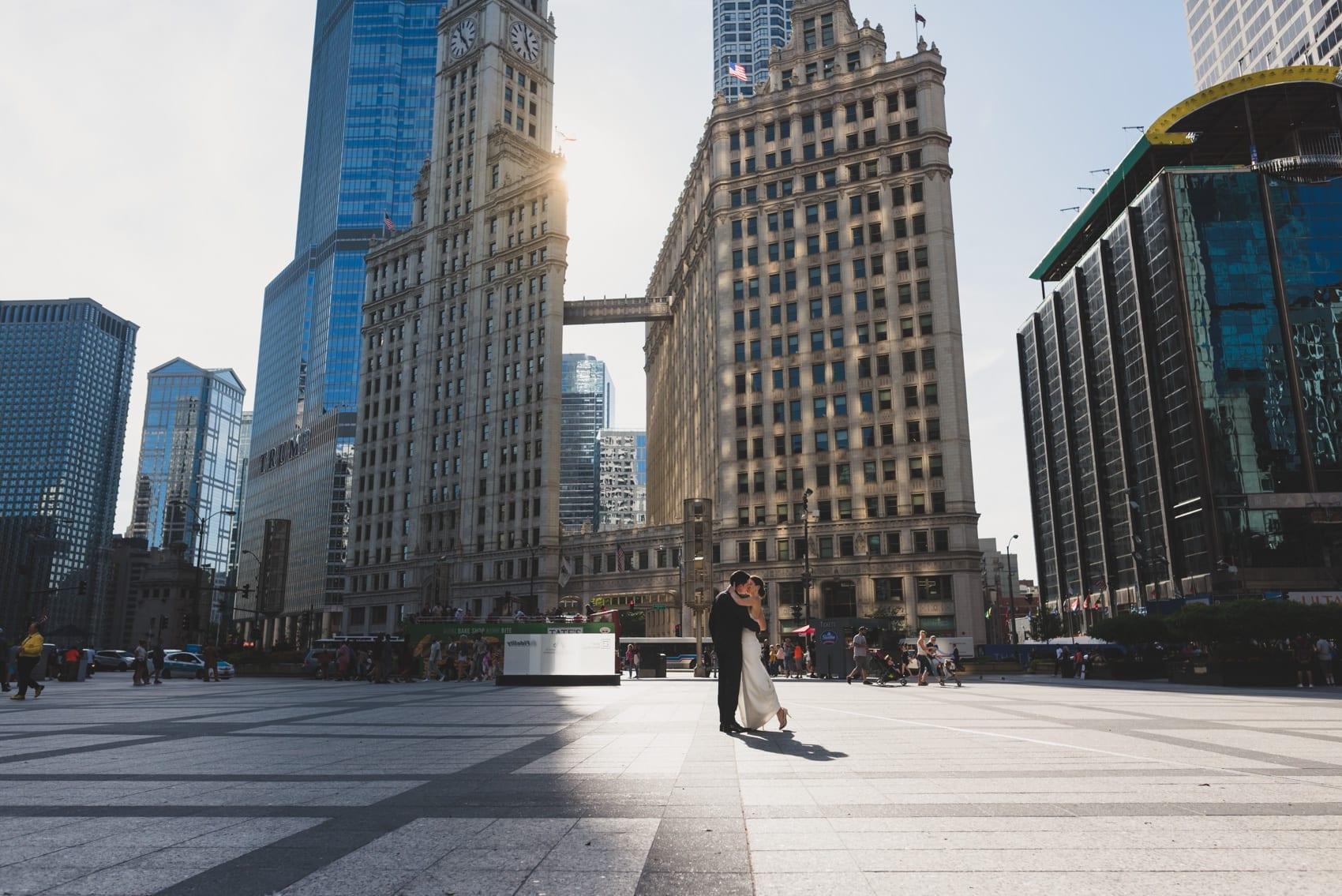Thara Photo Chicago Wedding Photographer Engagement Photographer InterContinental Hotel Summer Wedding