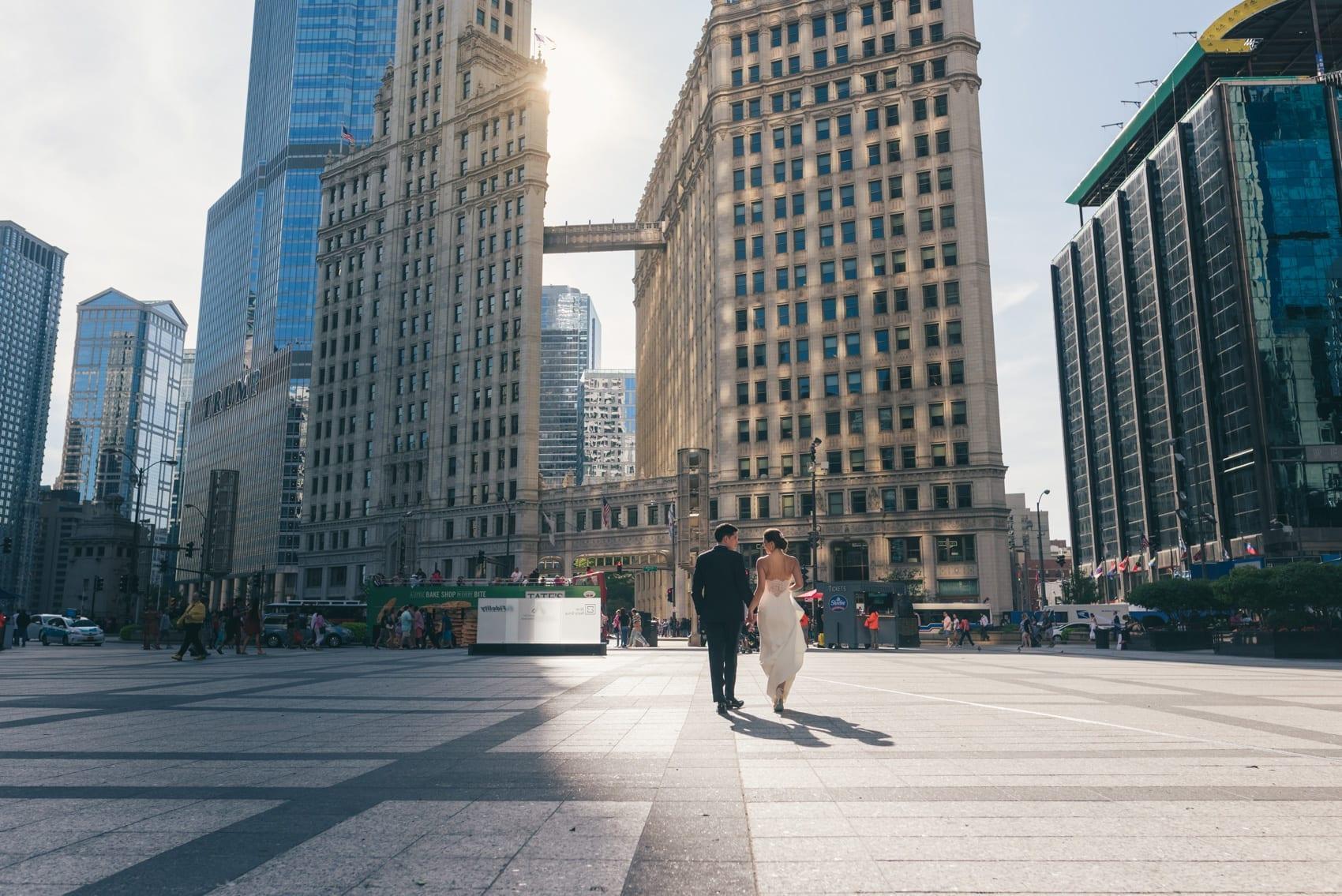 Thara Photo Chicago Engagement Wedding Photographer Intercontinental Hotel