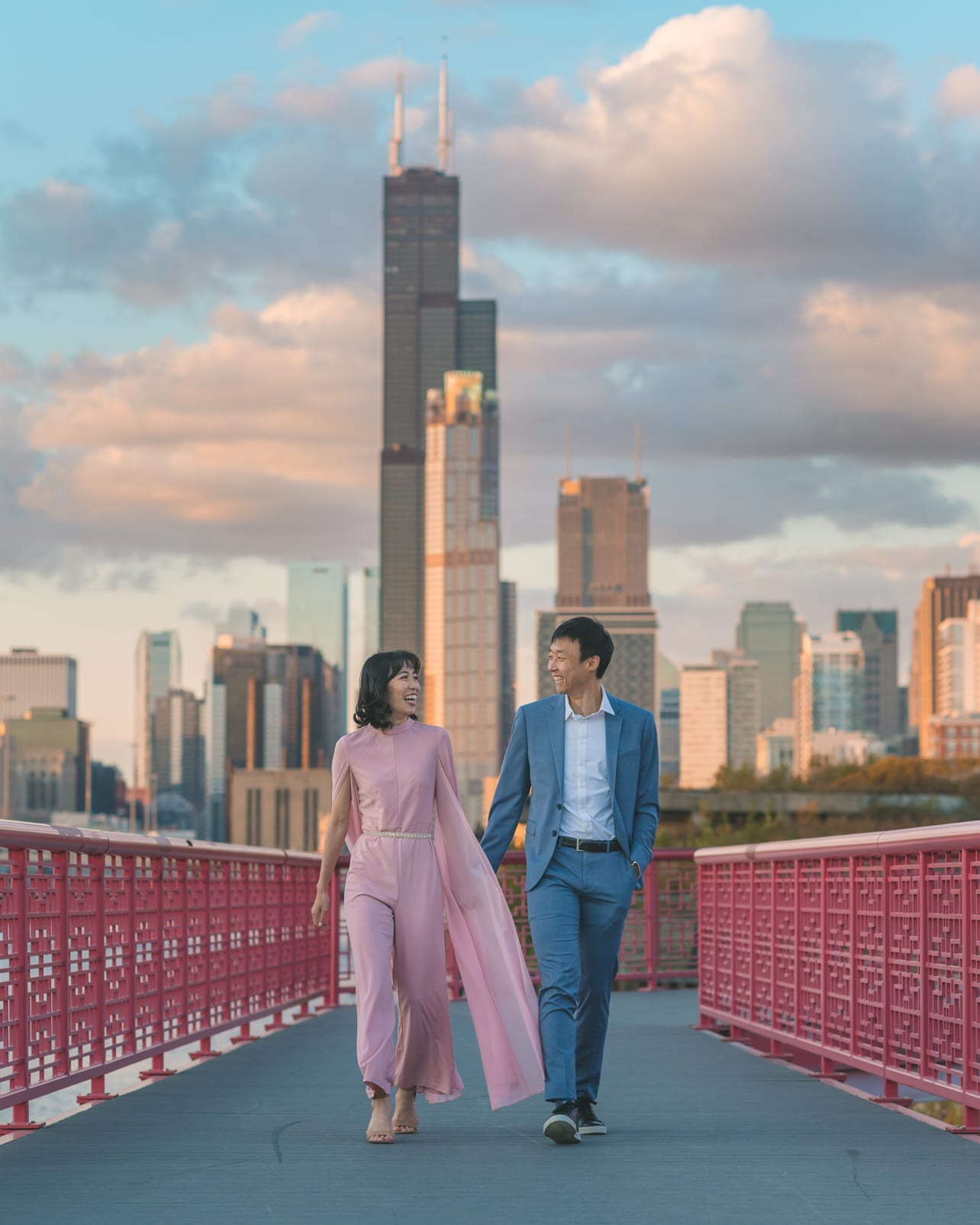 Chicago Downtown Elopement Wedding Engagement Photographer Thara Photo Tim Hara